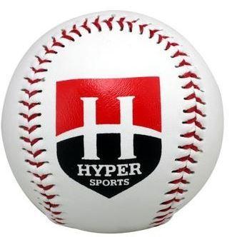 Bola de Beisebol Hyper Sports -  Branca  - REAL ESPORTE