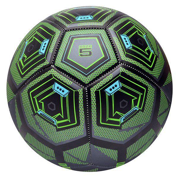 Bola de Futebol de Campo Wilson Hex Stinger - Verde  - REAL ESPORTE