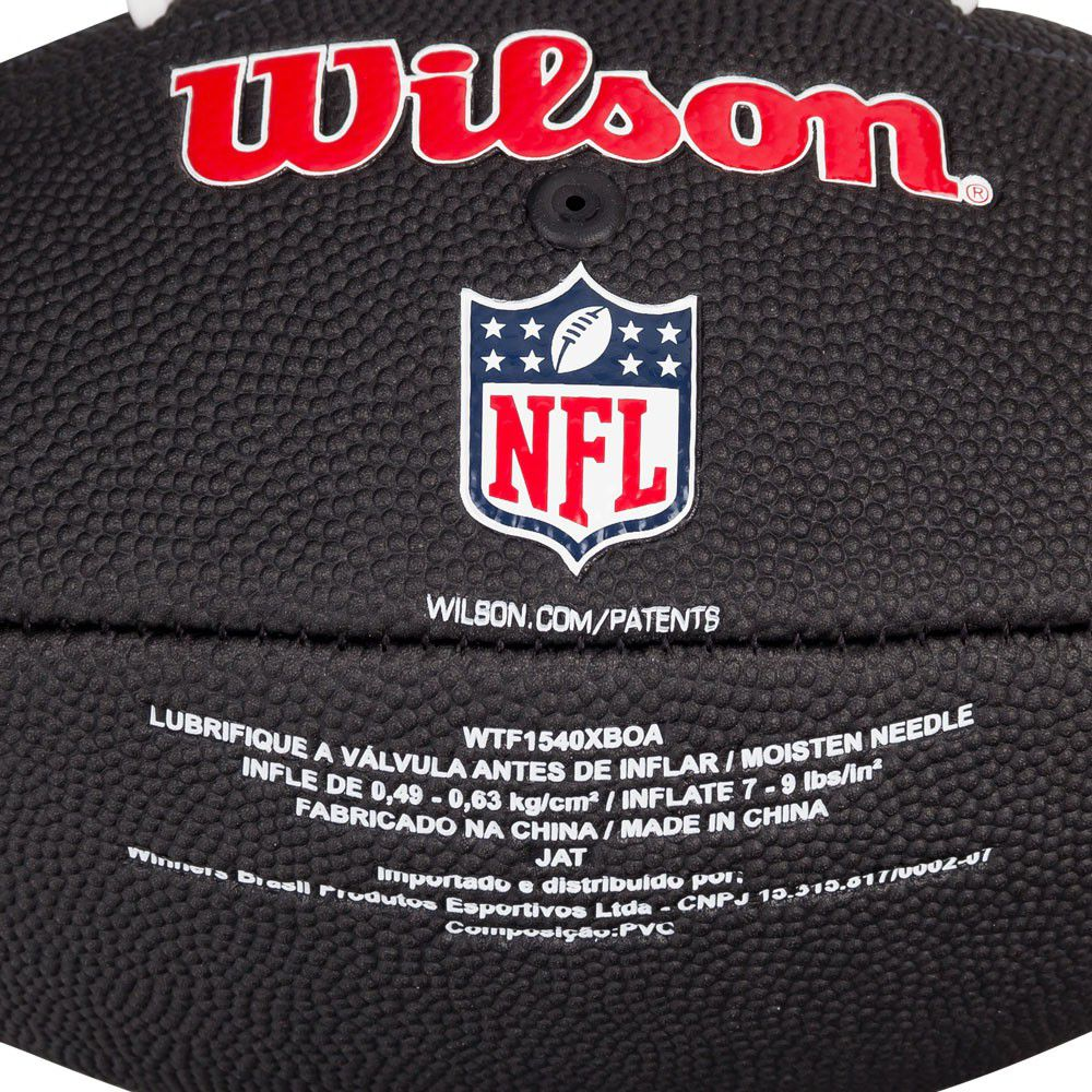 Bola de Futebol Americano Wilson Oakland Raiders  - REAL ESPORTE