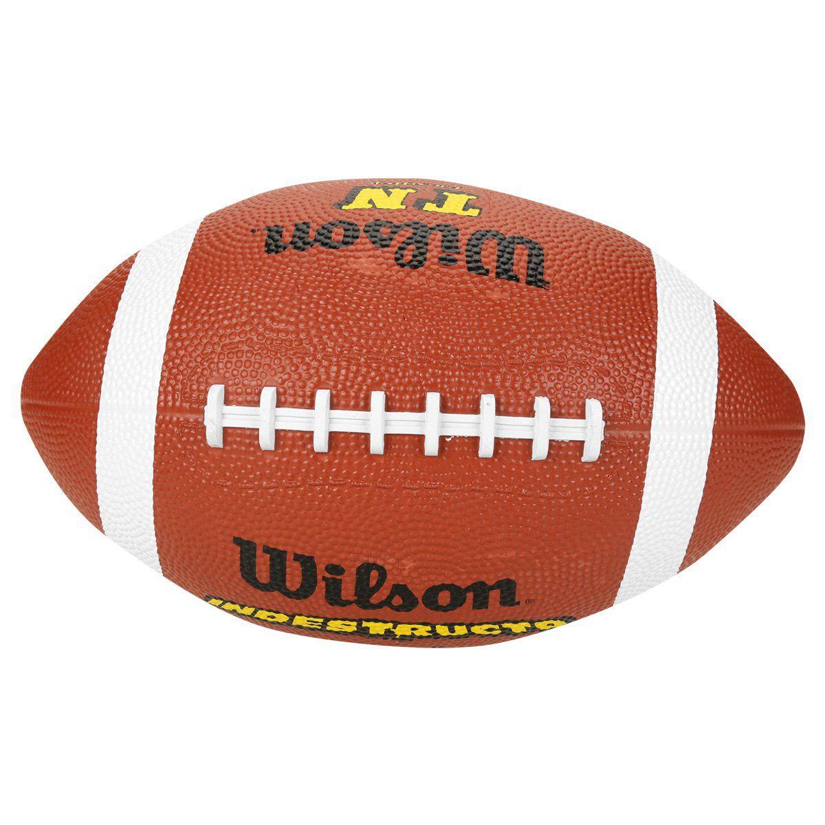 Bola de Futebol Americano Wilson Official Indestructo  - REAL ESPORTE