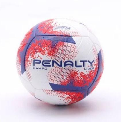 Bola de Futebol de Campo Líder Penalty - Vermelho/Roxa  - REAL ESPORTE