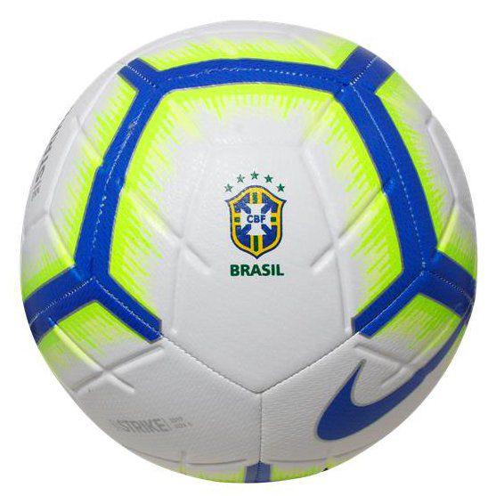 Bola de Futebol de Campo Nike Strike Brasileirão 2019  - REAL ESPORTE