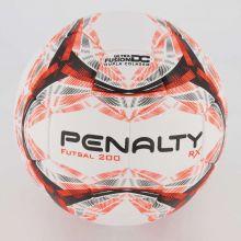Bola de Futebol Futsal Rx R1 200  Penalty - Laranja  - REAL ESPORTE