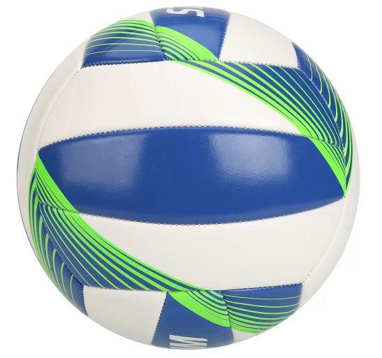 Bola de Futebol Stadium Vôlei Super Soft - Branco/Verde  - REAL ESPORTE
