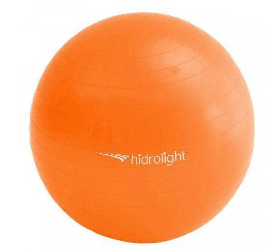 Bola de Pilates Ginastica Hidrolight 55 cm - Laranja  - REAL ESPORTE
