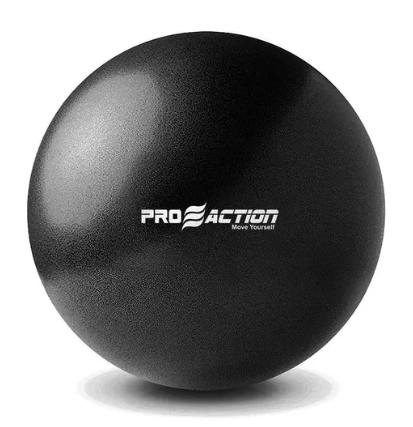 Bola de Pilates Overball 26CM Pro Action - Preto  - REAL ESPORTE