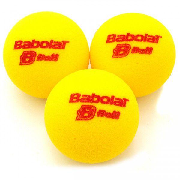 Bola de Tênis Babolat Ball de Espuma x 3 (Estágio 3)  - REAL ESPORTE
