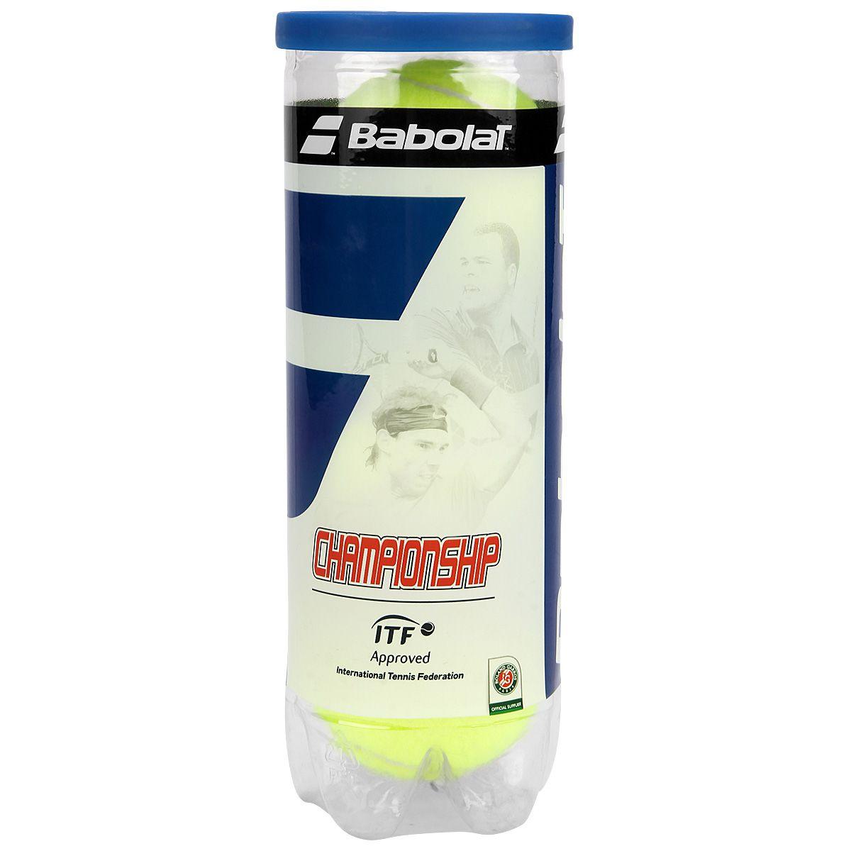 Bola de Tênis Babolat Championship  - REAL ESPORTE