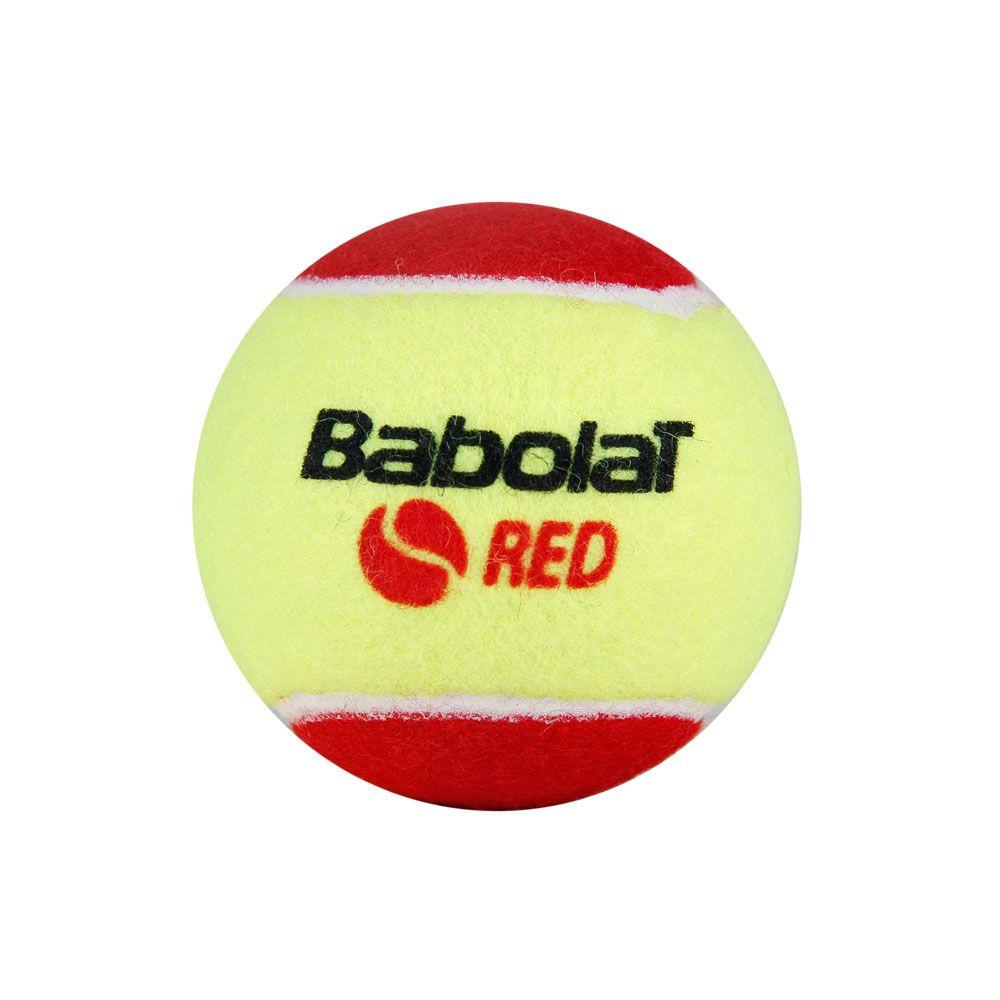 Bola de Tênis Babolat Felt x 3 Vermelha  - REAL ESPORTE