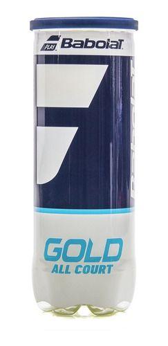 Bola de Tênis Babolat Gold C/ 3 Bolas  - REAL ESPORTE
