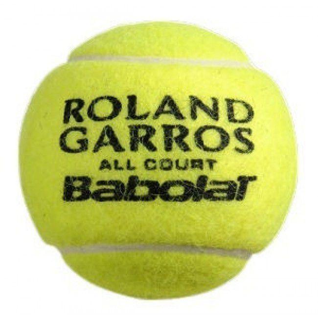Bola de Tênis Babolat Roland Garros All Court pack com 3 Tubos  - REAL ESPORTE