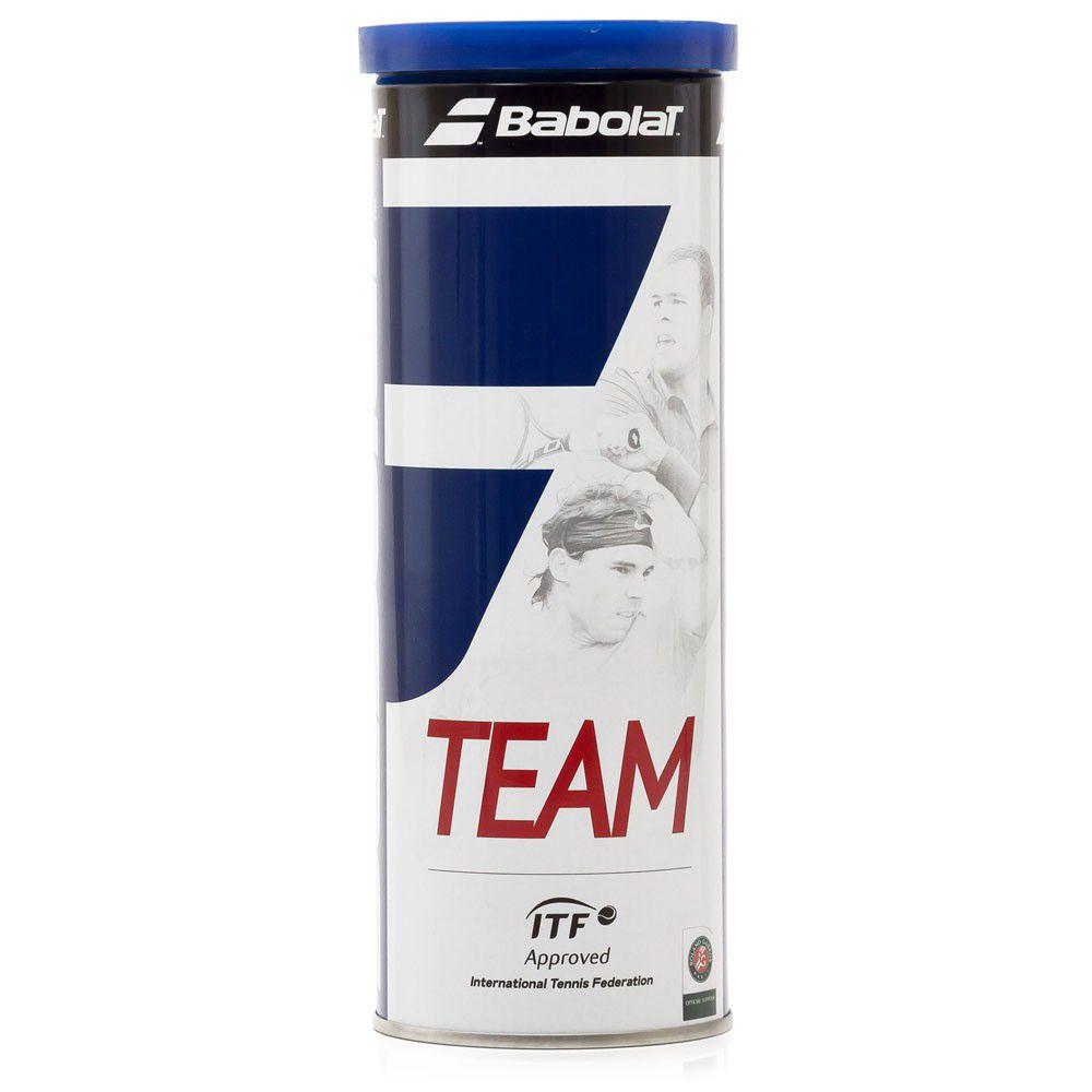 Bola de Tênis Babolat Team  - REAL ESPORTE