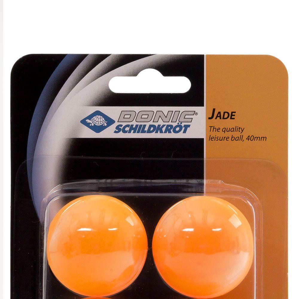 Bola de Tênis de Mesa Donic  Jade Laranja Com  6 Bolas  - REAL ESPORTE