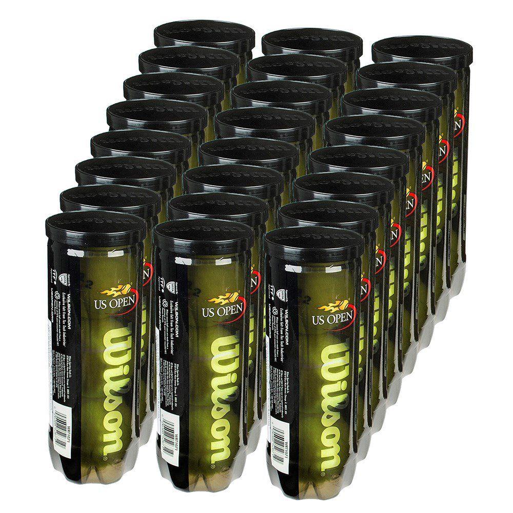Bola de Tênis Wilson US Open - Caixa com 24 tubos  - REAL ESPORTE