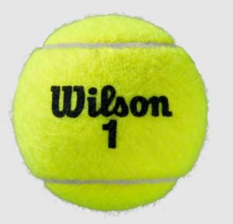 Bola de Tenis Wilson Roland Garros All Court - Tubo c/ 3 Bolas  - REAL ESPORTE