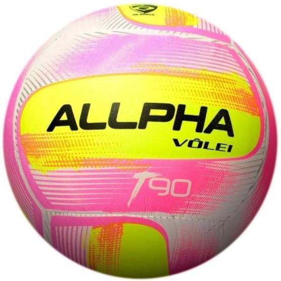 Bola de Vôlei Allpha T90 - Rosa  - REAL ESPORTE