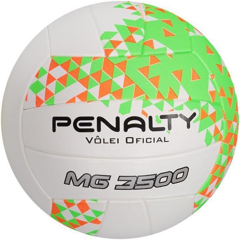 Bola de Volei Penalty Mg 3500 Ultra Fusion - Branca  - REAL ESPORTE