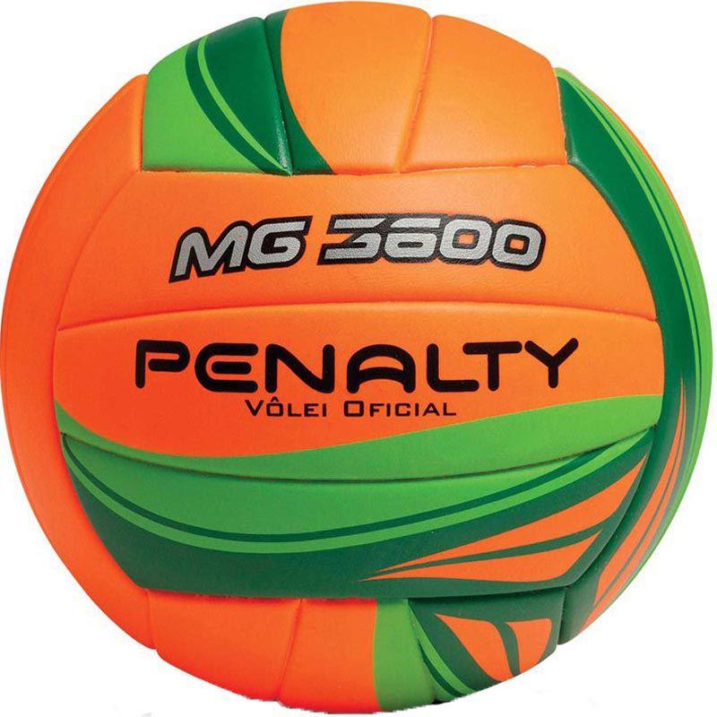 Bola de Volei Penalty Mg 3600 Ultra Fusion - Laranja  - REAL ESPORTE