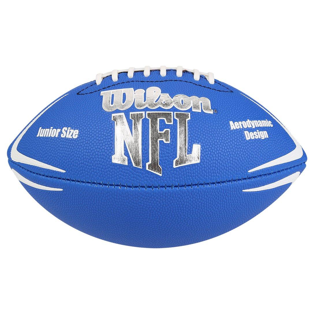 Bola de Futebol Americano Wilson NFL Avenger Júnior  Azul  - REAL ESPORTE