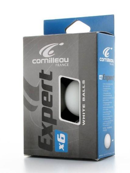 Bolinhas de Tenis de mesa Pro Cornilleau Com 6 Bolas - Branca  - REAL ESPORTE