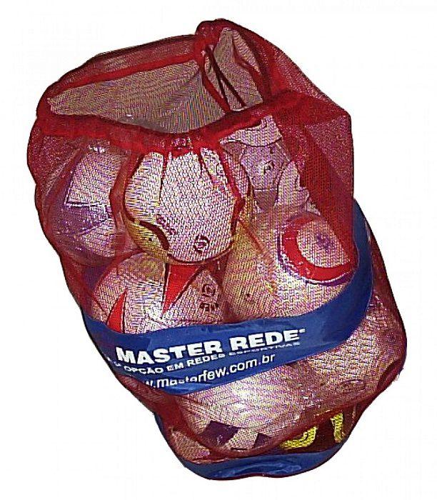 Bolsa em Nylon para 15 Bolas Reforçado - Master Rede  - REAL ESPORTE