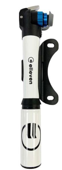 Bomba Mini Super Alumínio Telescópica Elleven - Branco  - REAL ESPORTE
