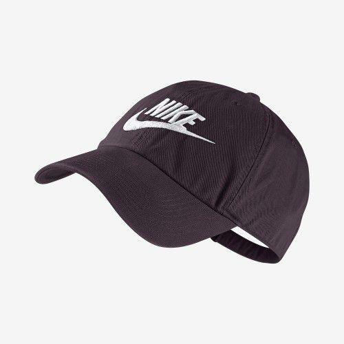 Boné Nike Futura Washed - Marrom  - REAL ESPORTE
