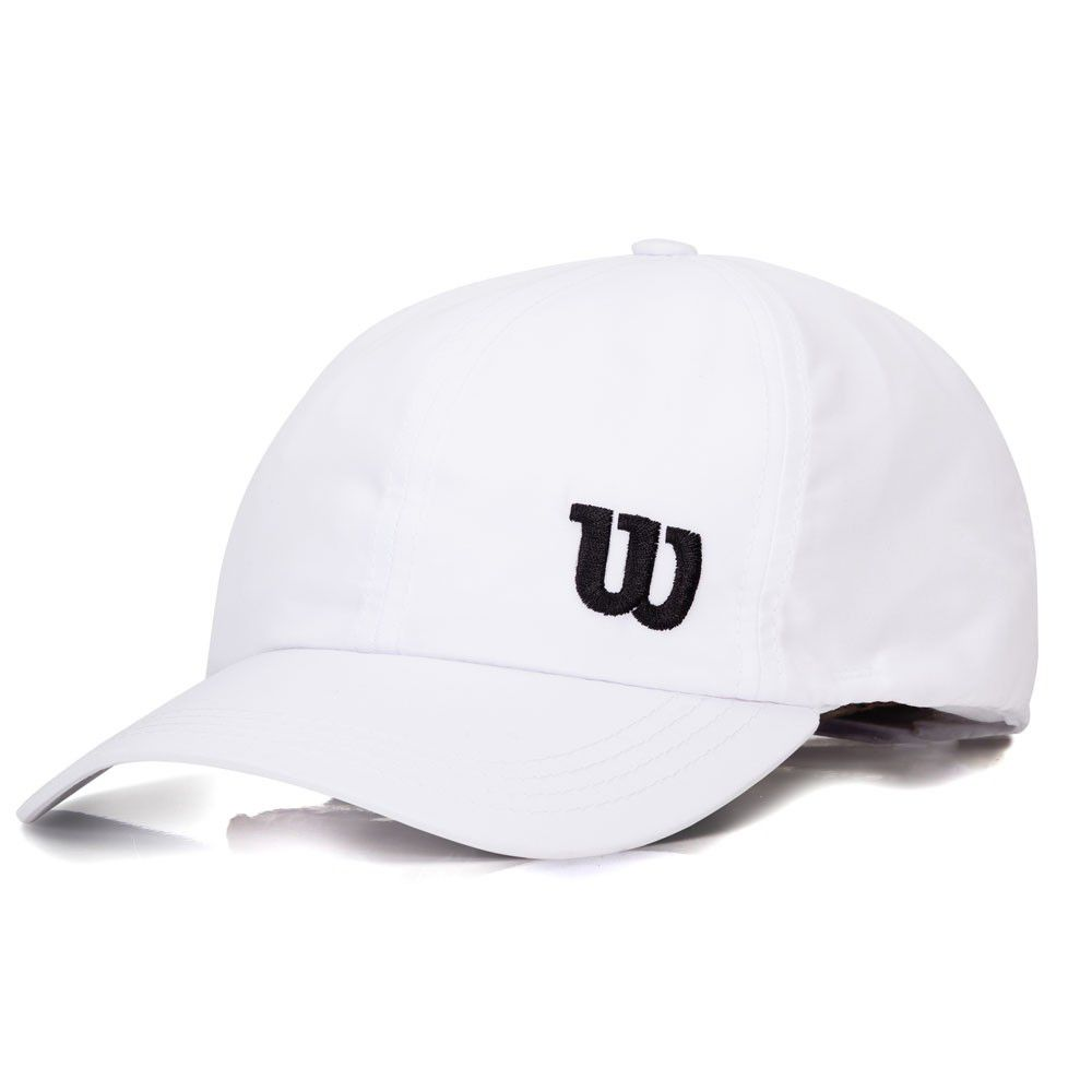 Boné Wilson Basic W Logo - Branco  - REAL ESPORTE