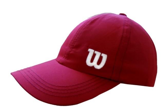 Boné Wilson Basic W Logo - Vermelho  - REAL ESPORTE