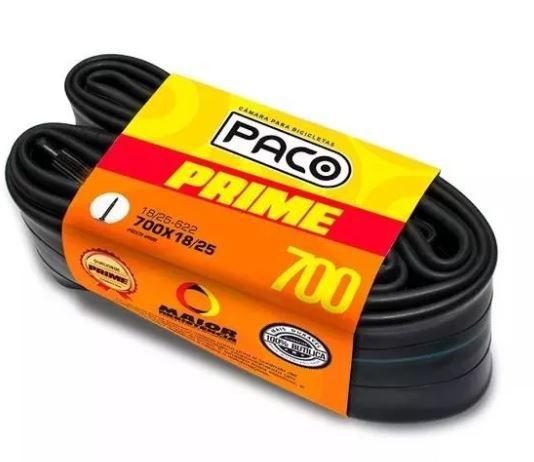 Camara De Ar Bike Paco Prime 700x18/25  Bico Fino  - REAL ESPORTE