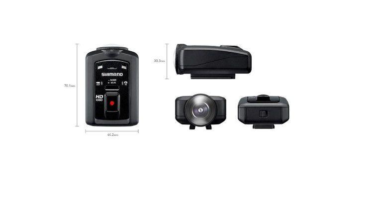 Camera Esportiva Shimano Sport Cm- 1000  - REAL ESPORTE
