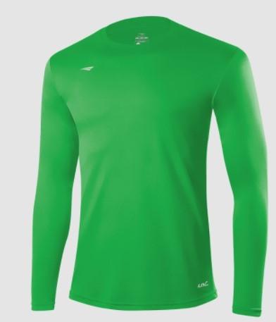 Camisa Termica Matis  Penalty - Verde  - REAL ESPORTE