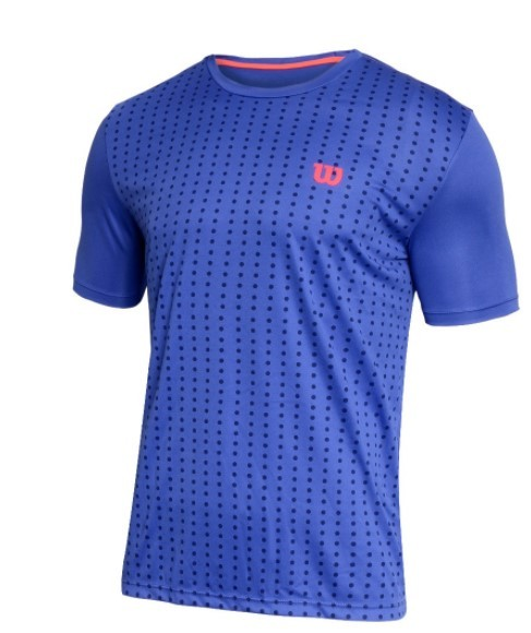 Camiseta Wilson Rush - Azul/Royal  - REAL ESPORTE