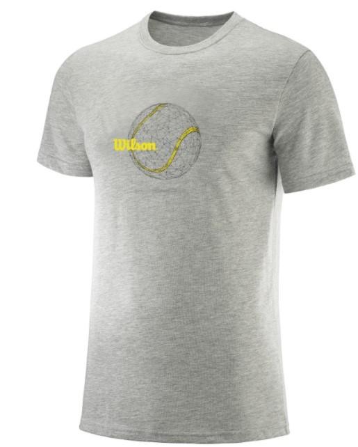 Camisata Wilson Tennis Ball - Cinza/Mescla  - REAL ESPORTE