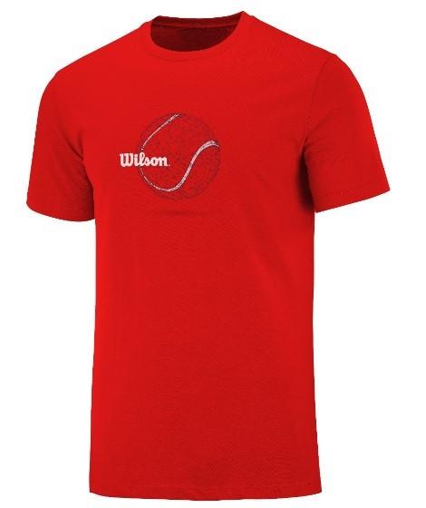 Camisata Wilson Tennis Ball - Vermelha  - REAL ESPORTE