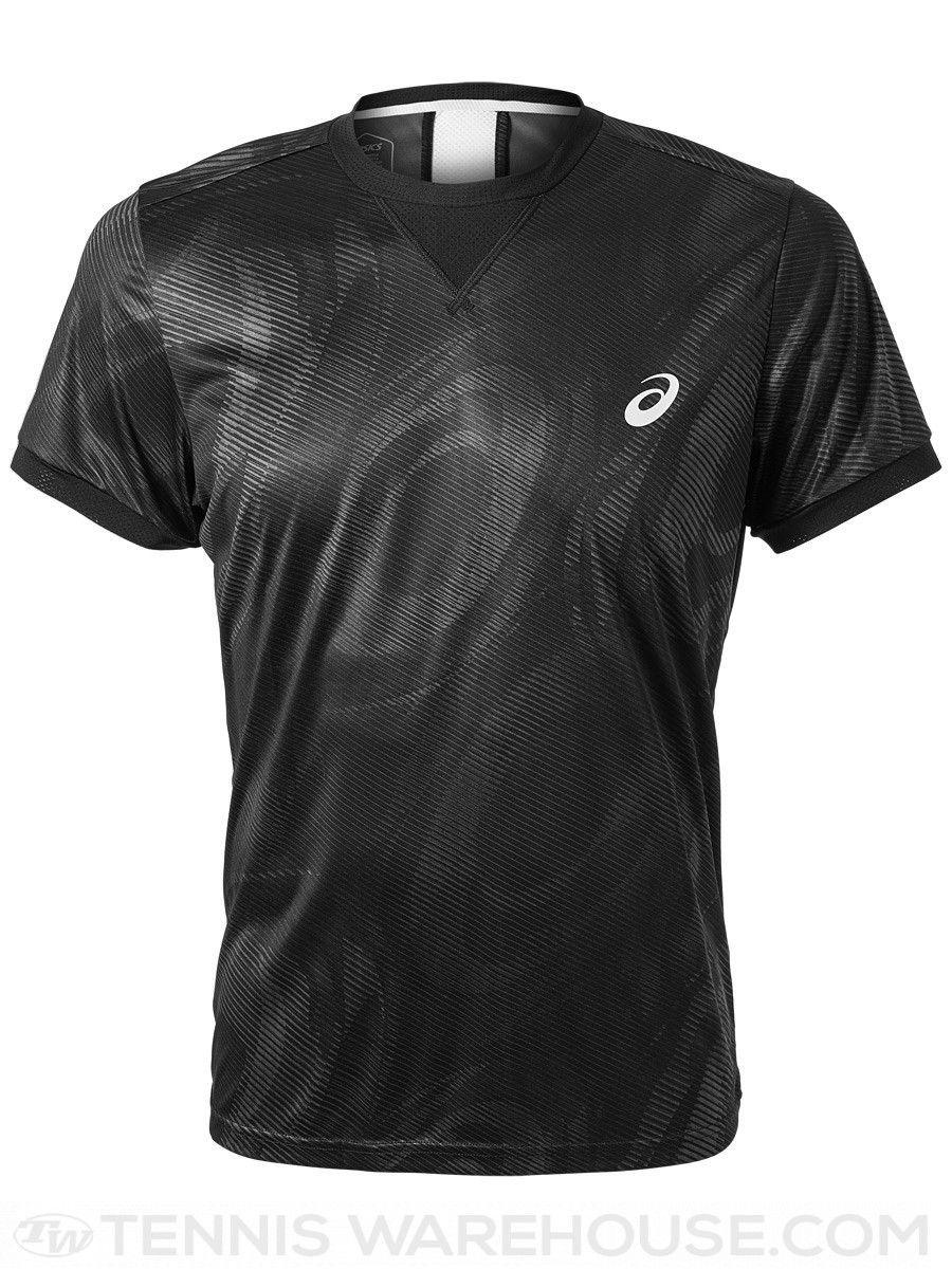 Camiseta Asics Tennis M SS GPX TOP Preta  - REAL ESPORTE