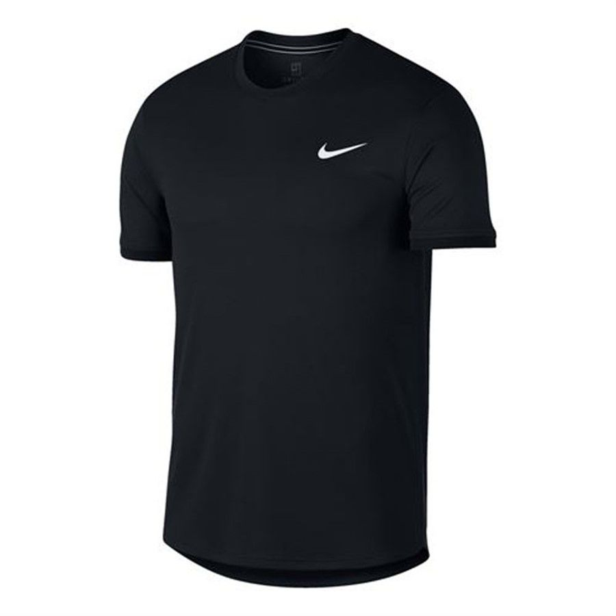 Camiseta Masculina NIke Court Dry Fit- Preto  - REAL ESPORTE