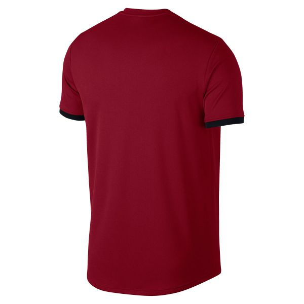 Camiseta Masculina NIke Court Dry Fit- Vermelho  - REAL ESPORTE