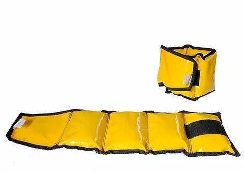 Caneleira de Peso  Up Lift  - 8Kg  Amarela  - REAL ESPORTE