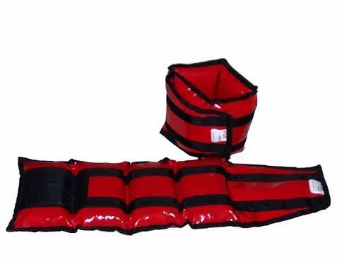 Caneleira de Peso  Up Lift  - 6Kg  Vermelha  - REAL ESPORTE
