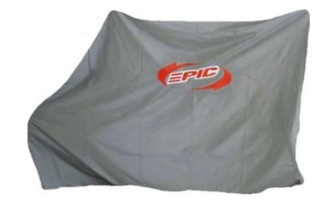 Capa Bicicleta Epic Line 116l  Nylon Impermeável - Prata  - REAL ESPORTE