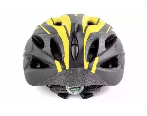 Capacete Ciclismo Bike Absolute Nero - Amarelo  - REAL ESPORTE