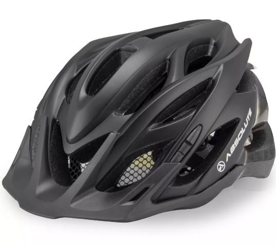 Capacete Ciclismo Bike Absolute Nero - Preto  - REAL ESPORTE