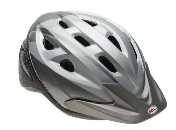 Capacete Ciclismo Bike Bell Strut - CInza  - REAL ESPORTE