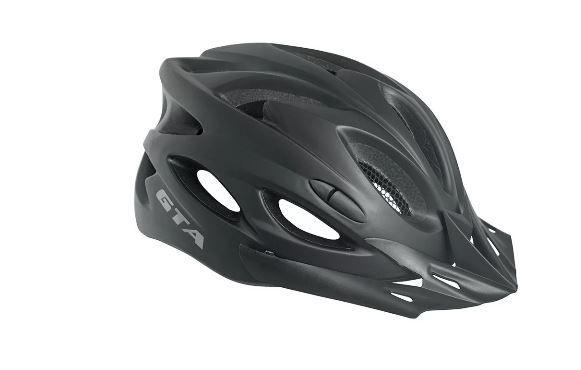 Capacete Ciclismo Bike  Gta - Preto  - REAL ESPORTE