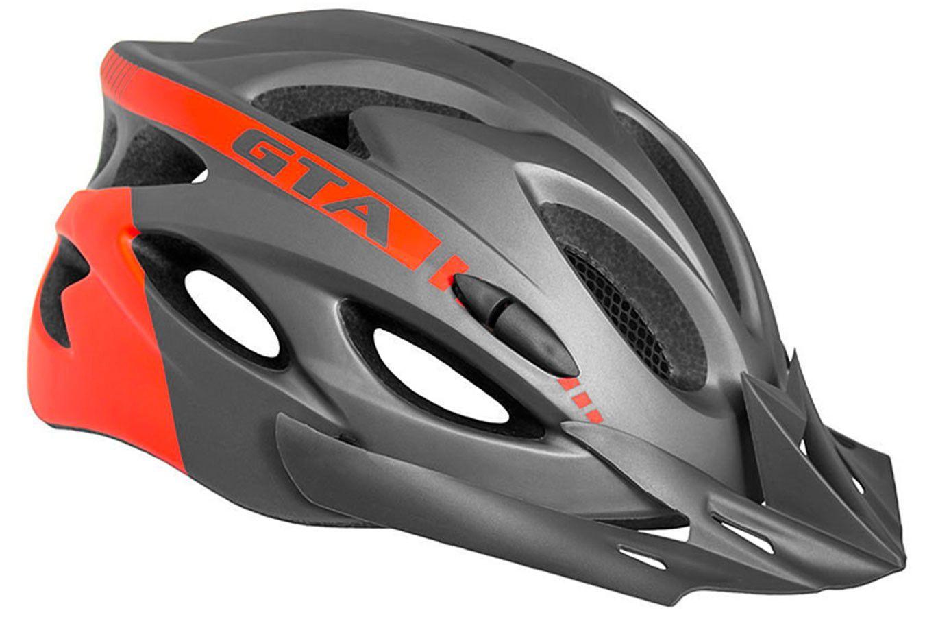 Capacete Ciclismo Bike  Gta - Vermelho  - REAL ESPORTE