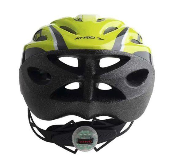 Capacete Ciclismo MTB 2.0  Atrio - Neon/Preto  - REAL ESPORTE