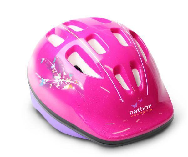 Capacete Ciclismo Bike Nathor Helmets - Rosa  - REAL ESPORTE