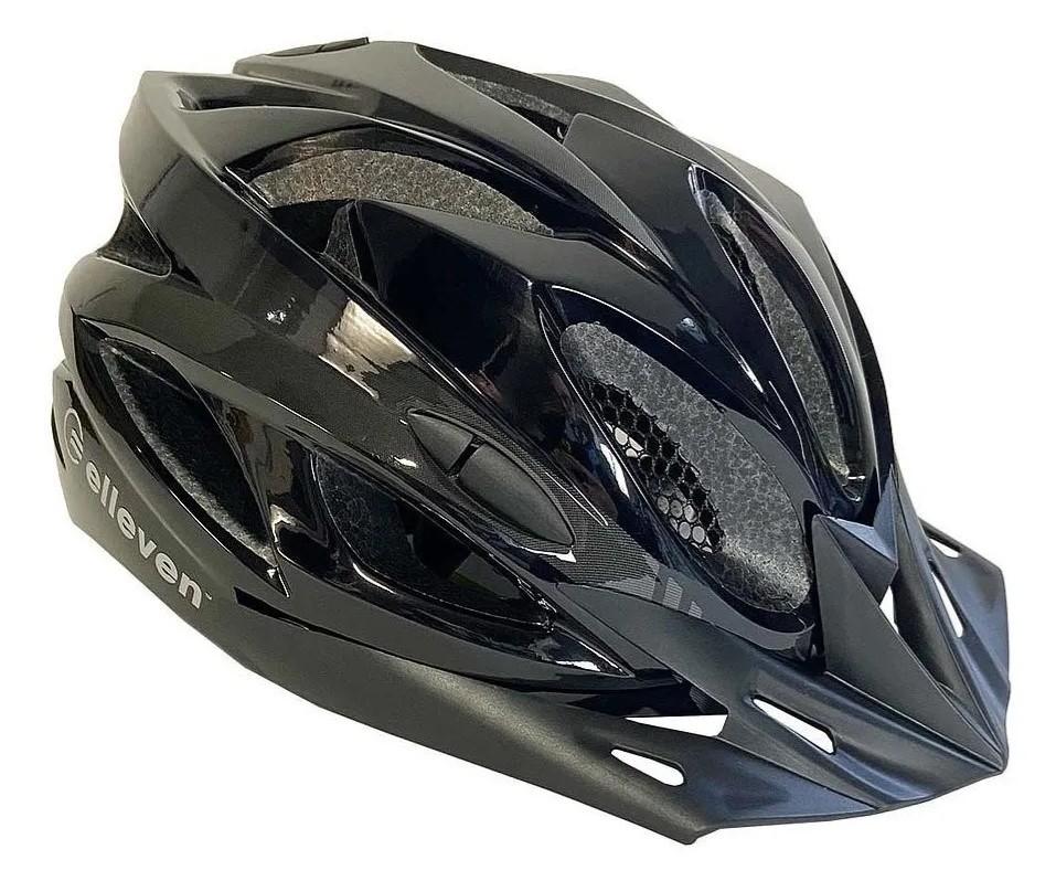 Capacete Ciclismo Elleven c/ Regulagem e Luz traseira de Segurança  - REAL ESPORTE