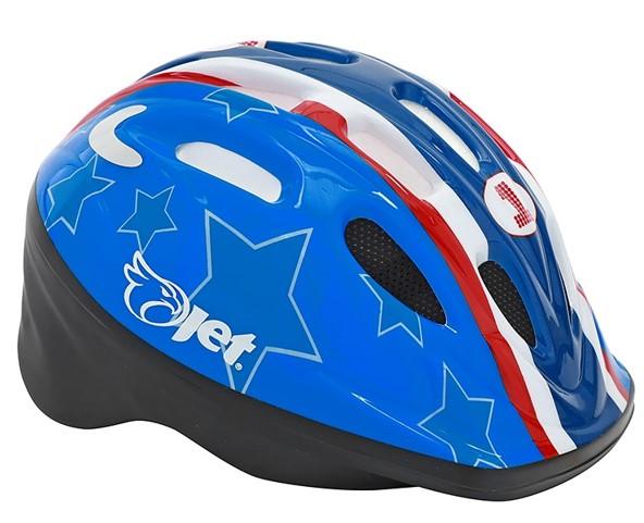 Capacete Ciclismo Jet Infantil Tomcat - Azul  - REAL ESPORTE